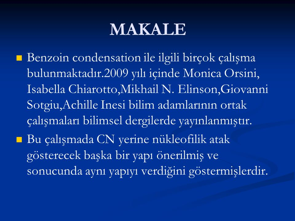 MAKALE