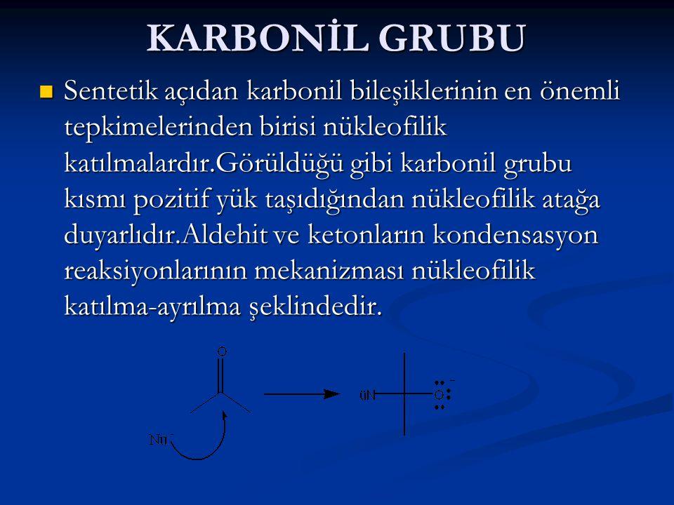 KARBONİL GRUBU