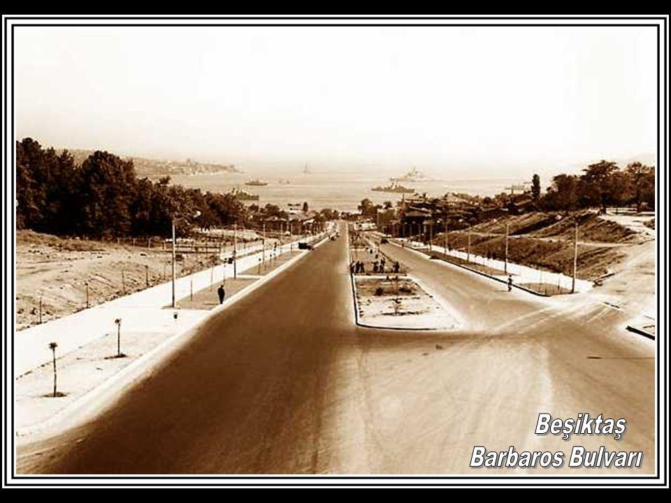 Beşiktaş Barbaros Bulvarı