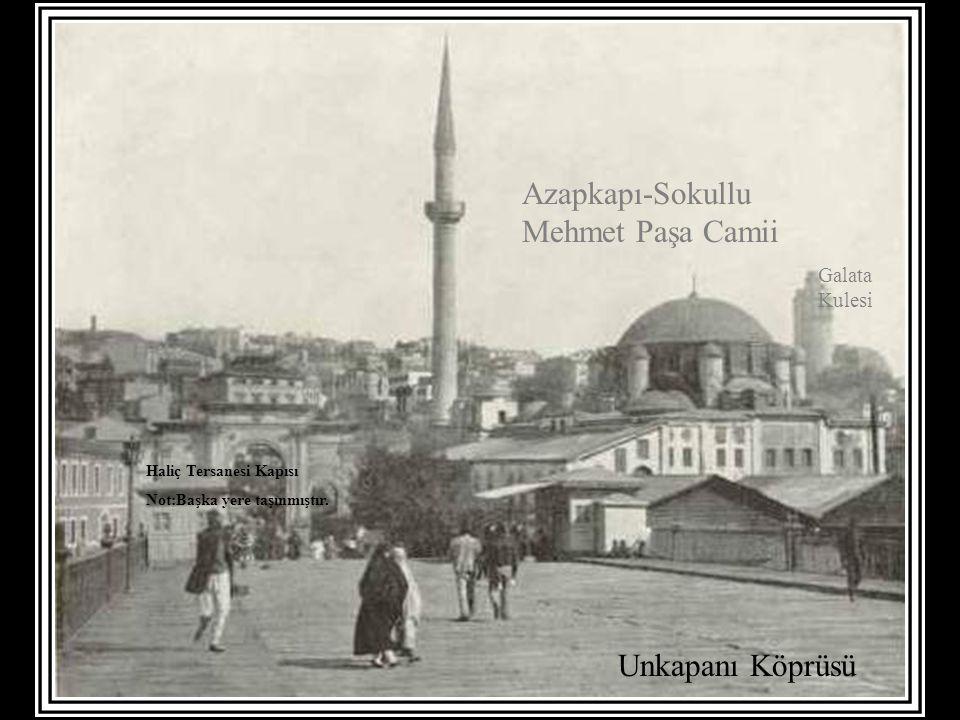 Azapkapı-Sokullu Mehmet Paşa Camii