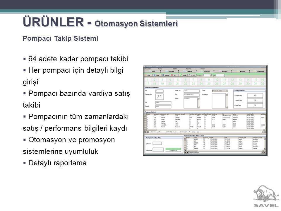 ÜRÜNLER - Otomasyon Sistemleri