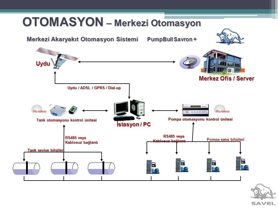 OTOMASYON – Merkezi Otomasyon