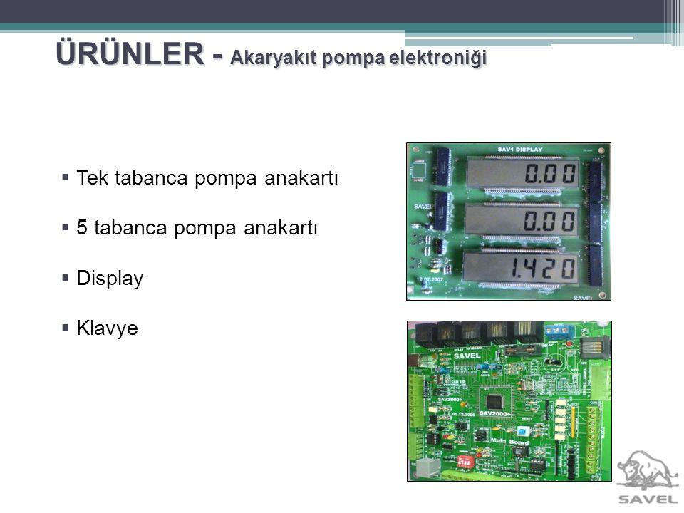 ÜRÜNLER - Akaryakıt pompa elektroniği