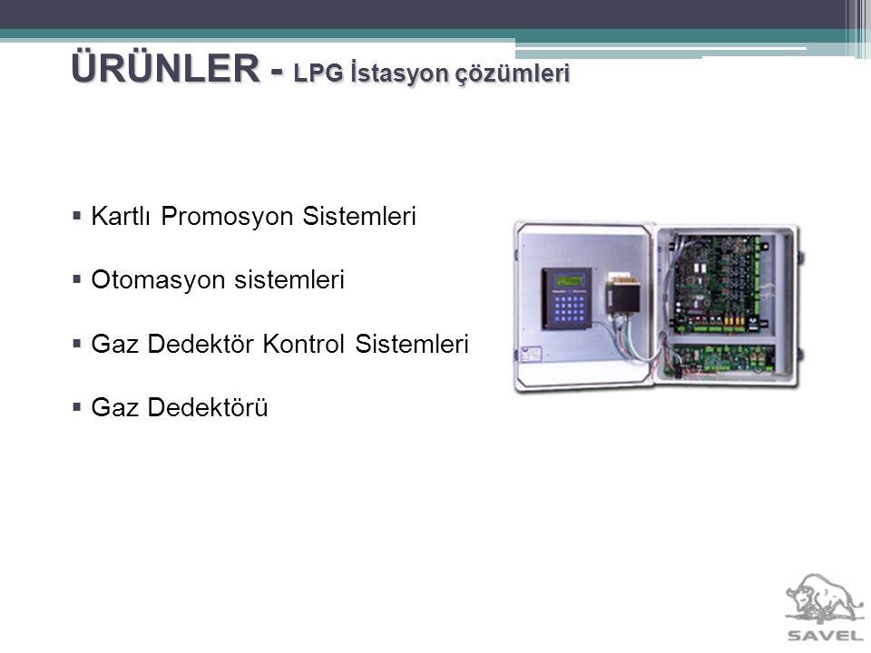 ÜRÜNLER - LPG İstasyon çözümleri