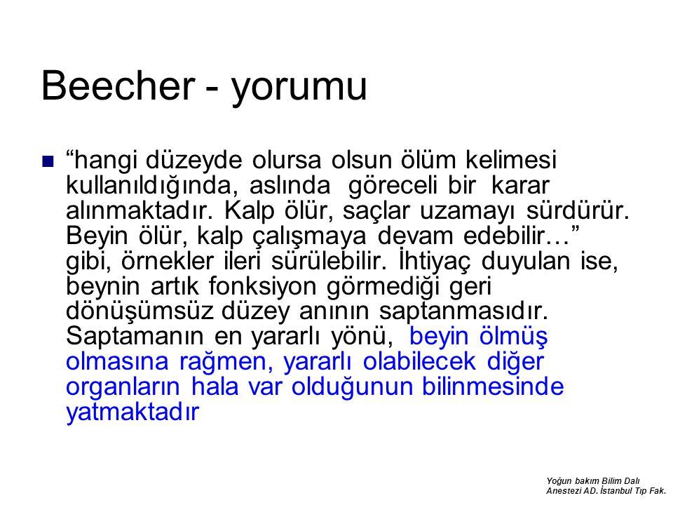 Beecher - yorumu
