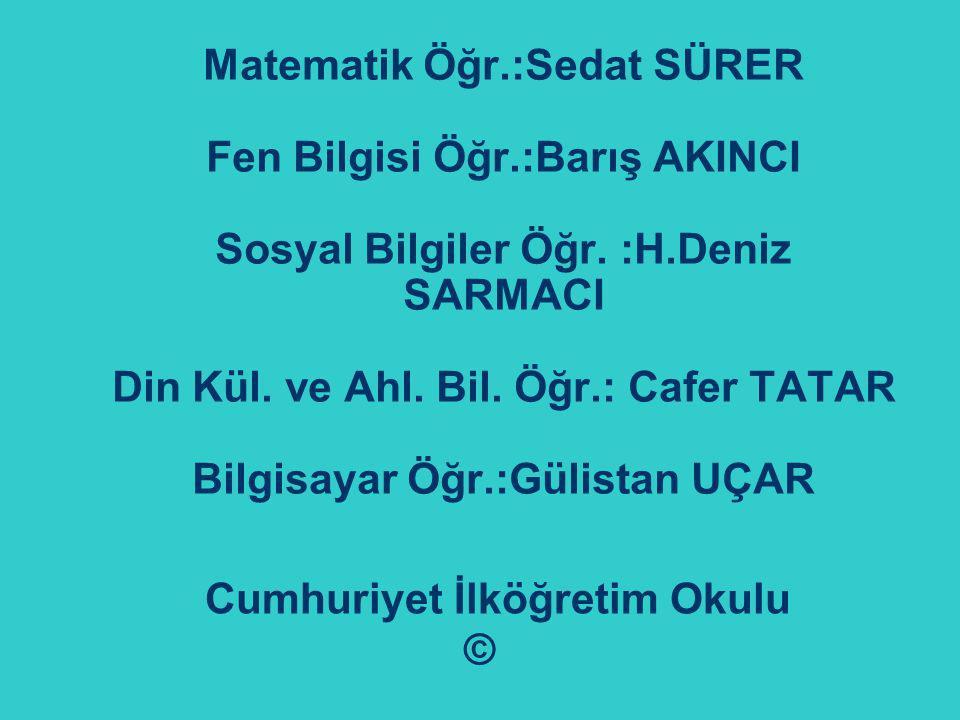 Cumhuriyet İlköğretim Okulu ©