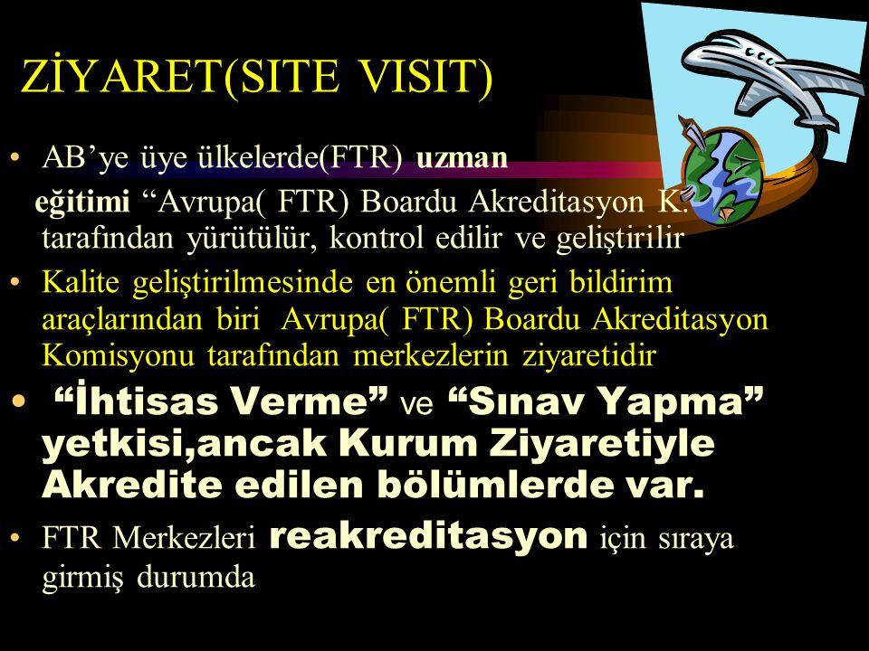 ZİYARET(SITE VISIT) AB'ye üye ülkelerde(FTR) uzman.