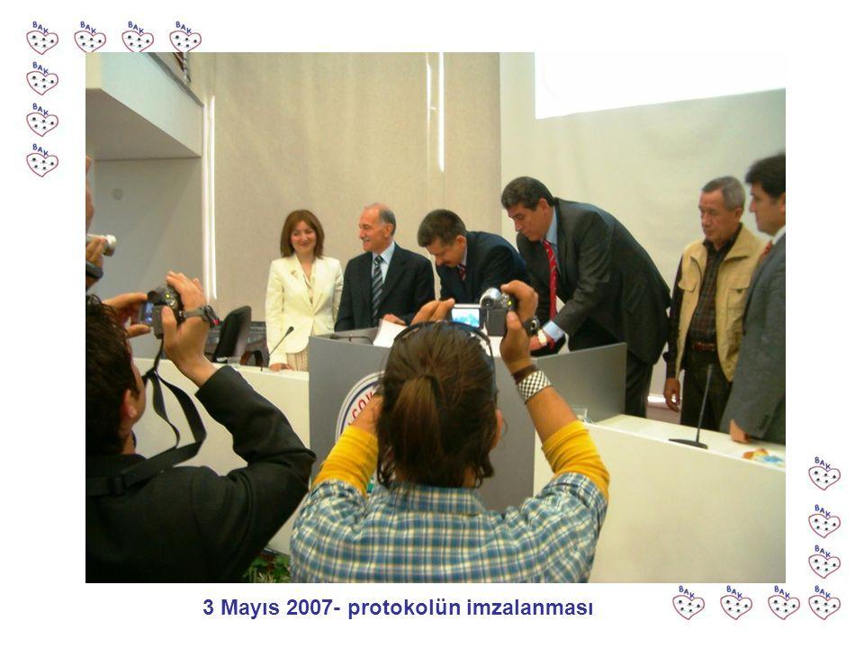 3 Mayıs 2007- protokolün imzalanması