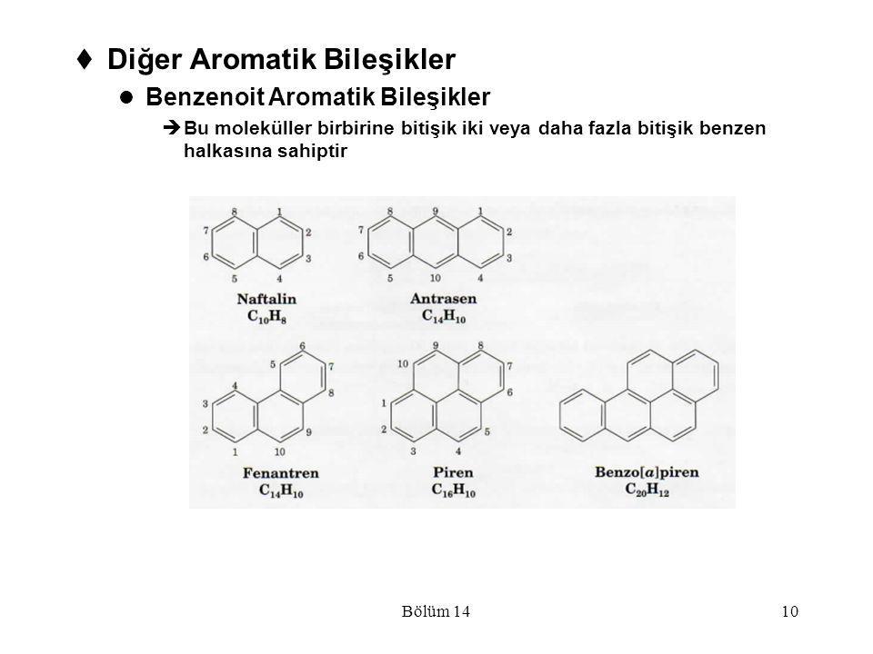 Diğer Aromatik Bileşikler