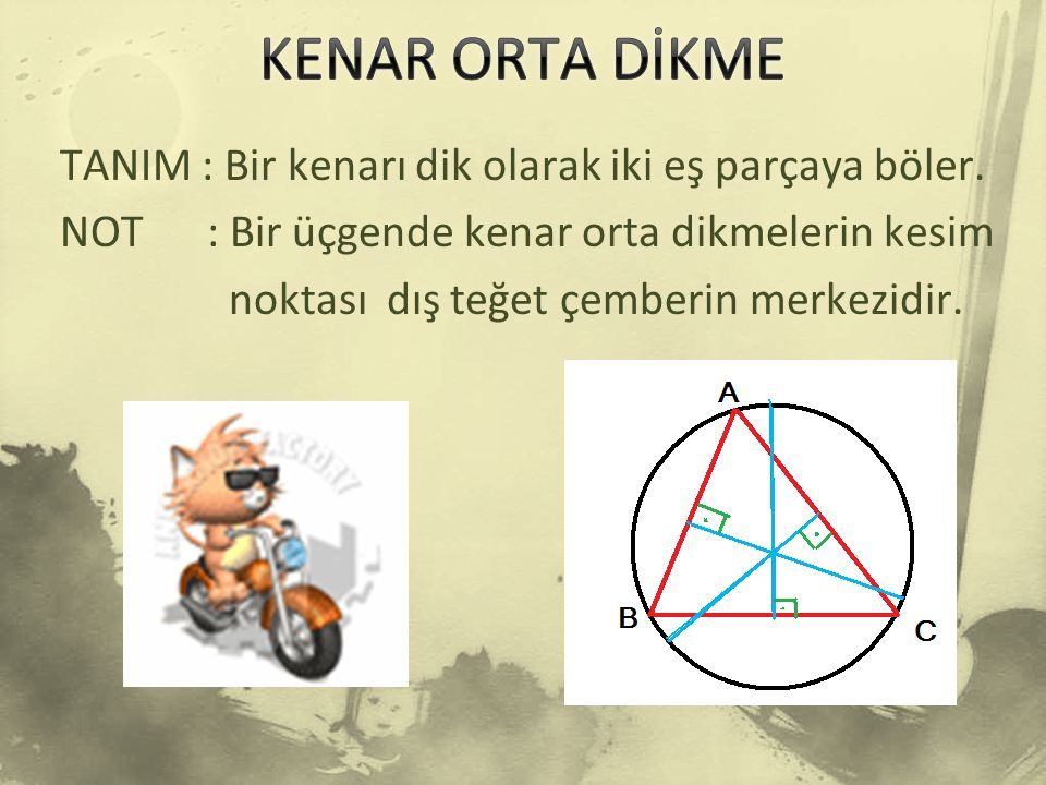 KENAR ORTA DİKME