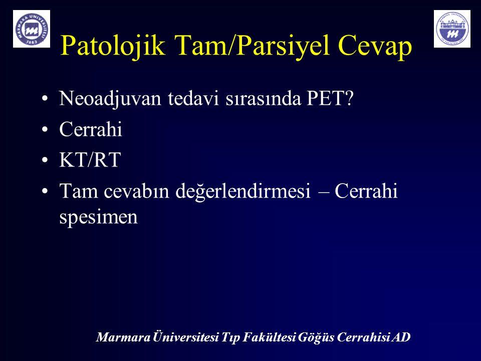 Patolojik Tam/Parsiyel Cevap