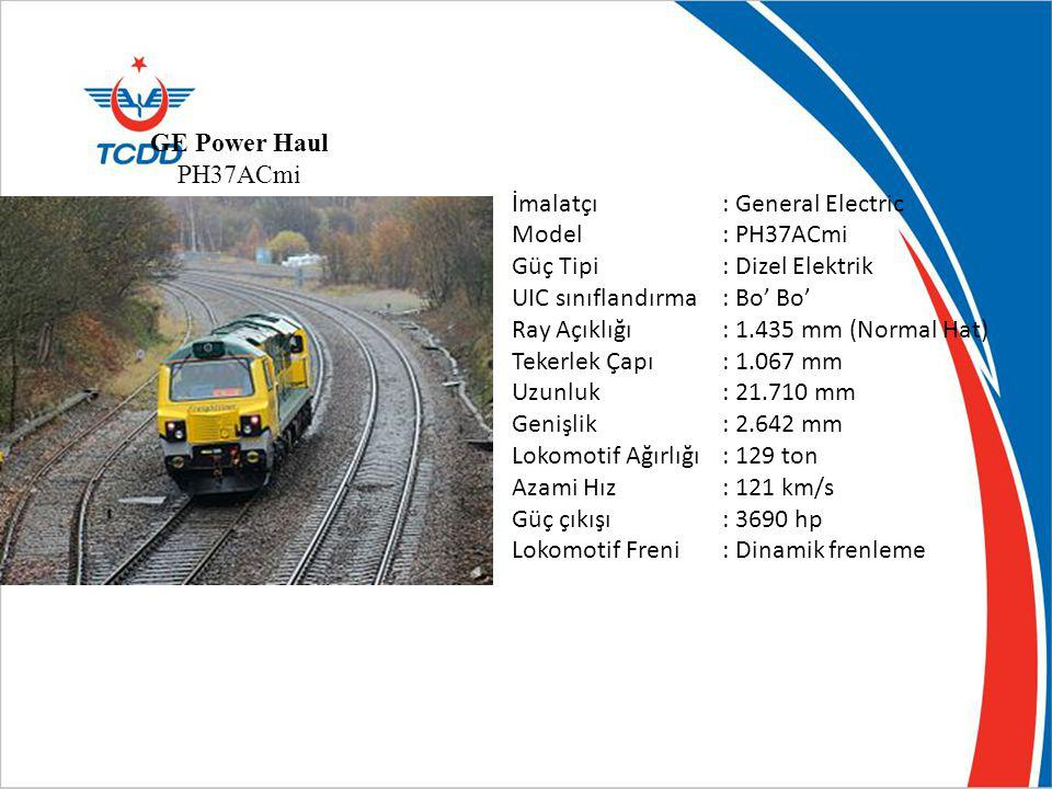 GE Power Haul PH37ACmi İmalatçı : General Electric. Model : PH37ACmi. Güç Tipi : Dizel Elektrik.