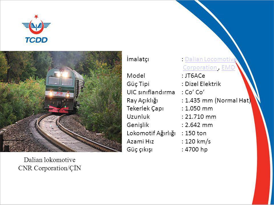 İmalatçı : Dalian Locomotive