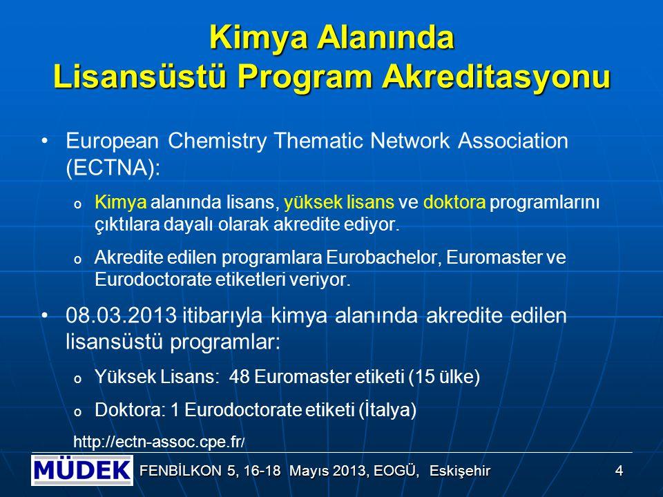 Diğer Alanlarda Lisansüstü Program Akreditasyonu Örnekleri