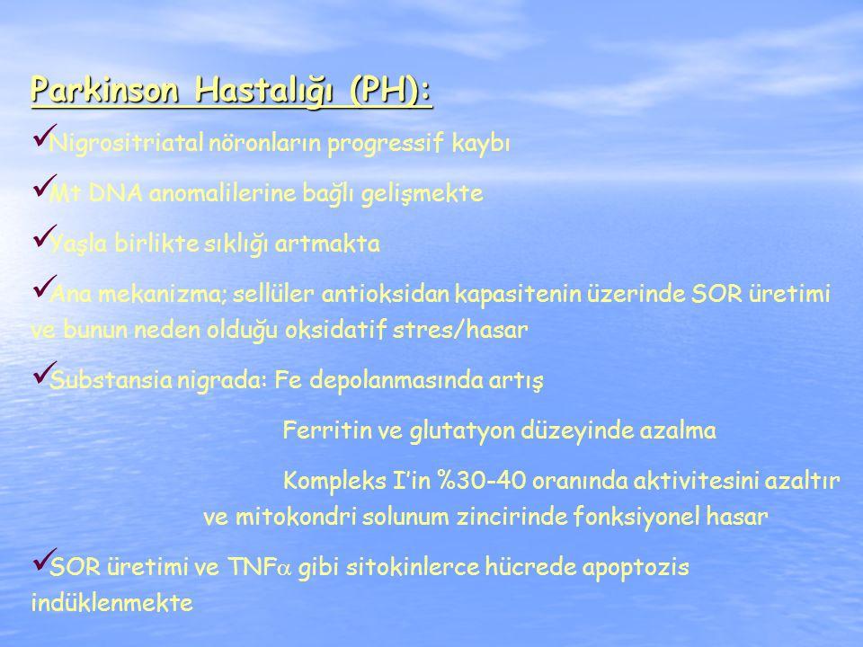 Parkinson Hastalığı (PH):