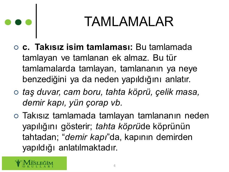 TAMLAMALAR