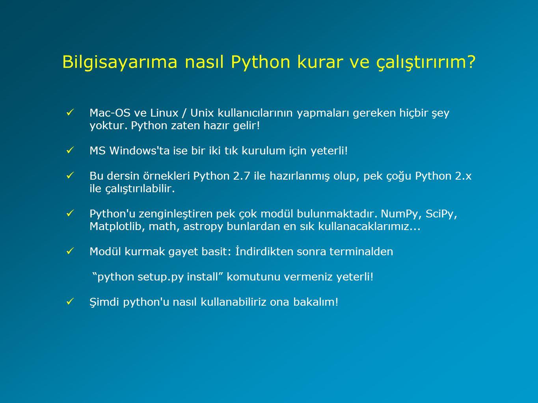 Bilgisayarıma nasıl Python kurar ve çalıştırırım