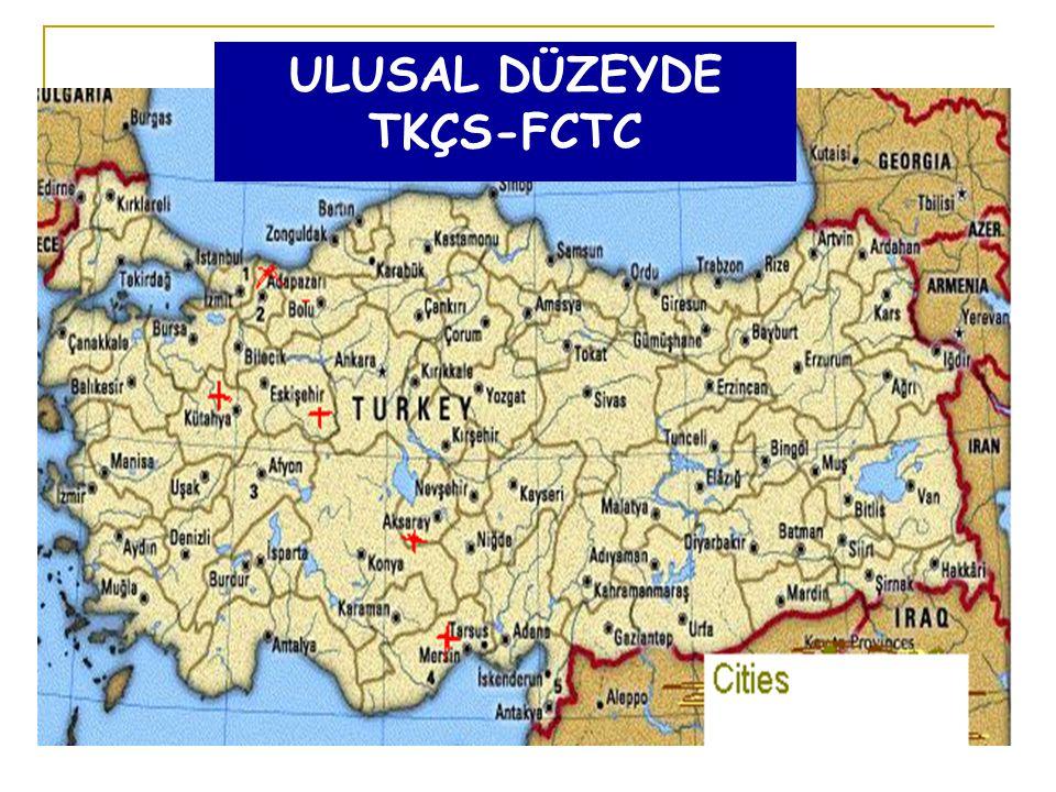 ULUSAL DÜZEYDE TKÇS-FCTC