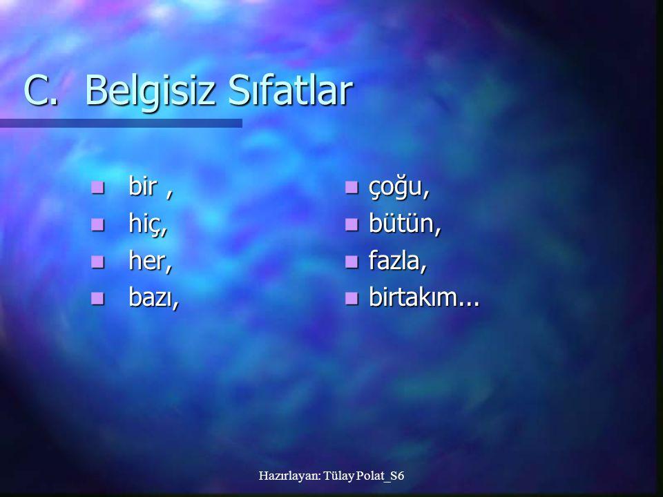Hazırlayan: Tülay Polat_S6