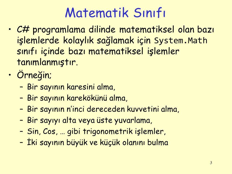 Matematik Sınıfı