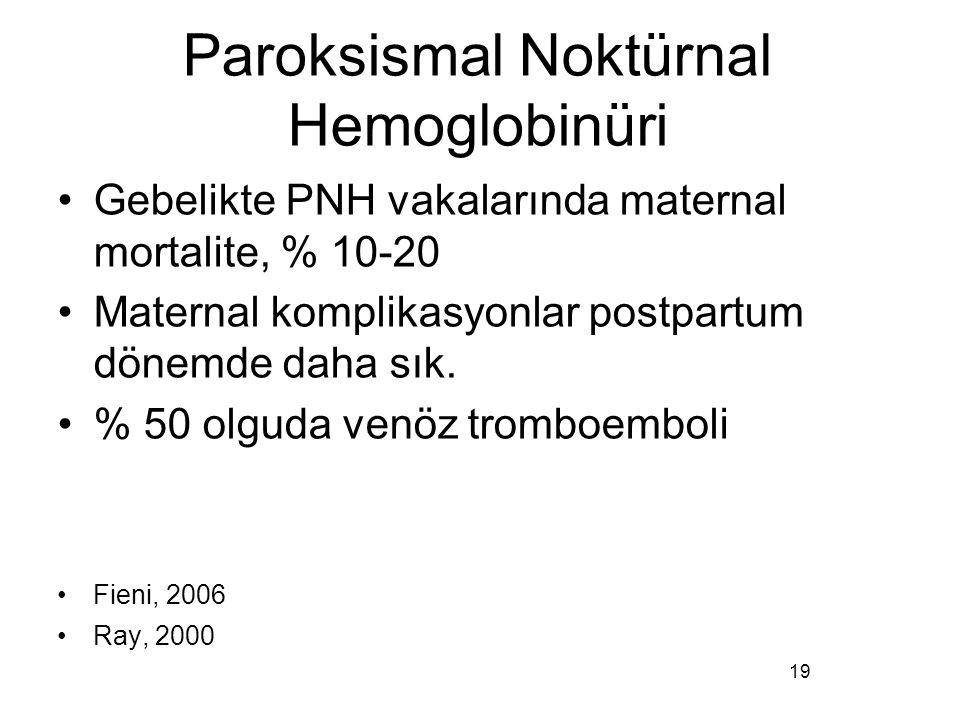 Paroksismal Noktürnal Hemoglobinüri