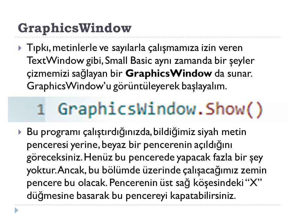 GraphicsWindow