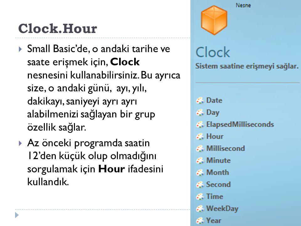 Clock.Hour
