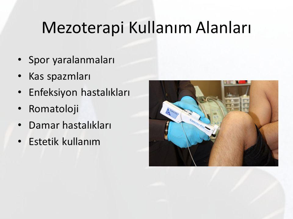 Mezoterapi Kullanım Alanları