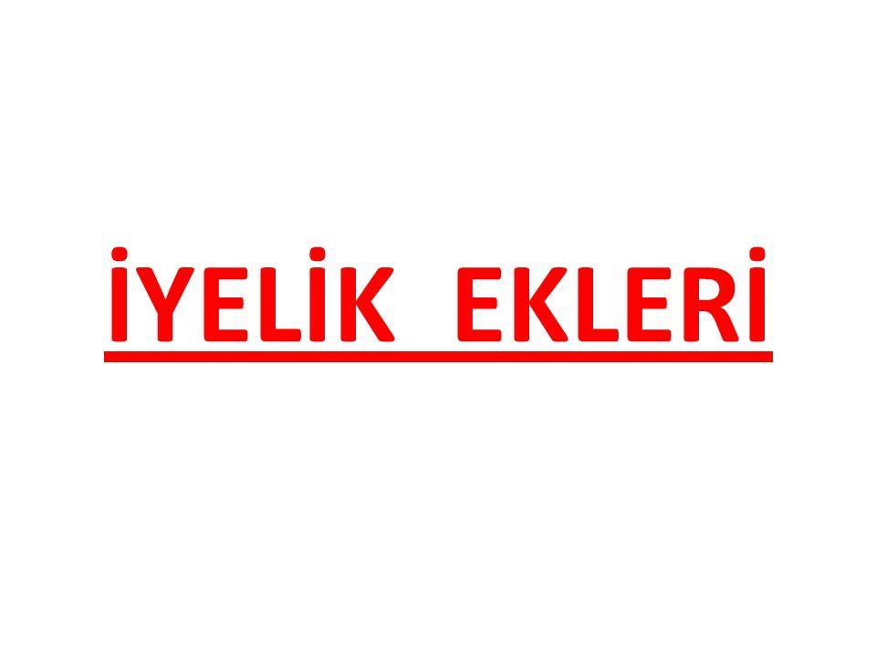 İYELİK EKLERİ