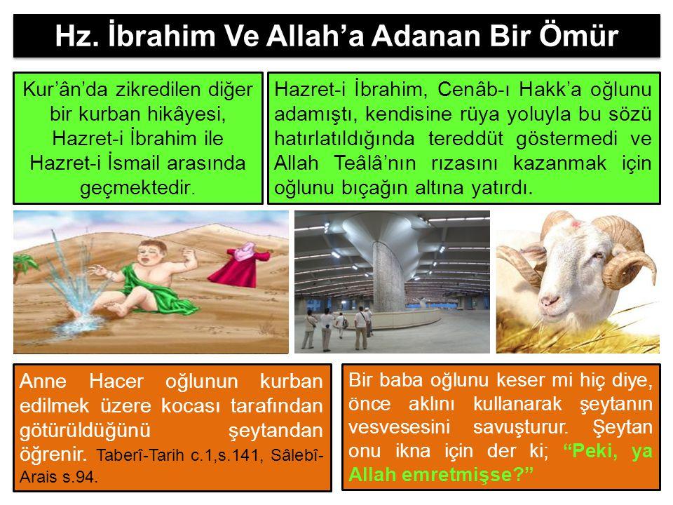 Hz. İbrahim Ve Allah'a Adanan Bir Ömür