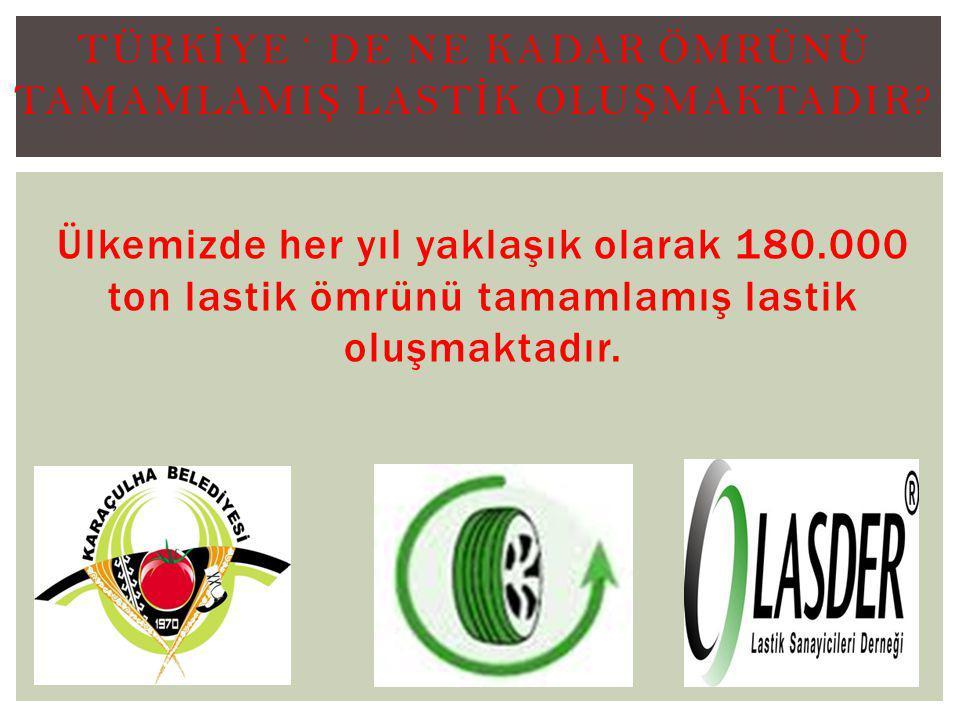 Türkİye ' de Ne Kadar ÖMRÜNÜ TAMAMLAMIŞ LASTİK OLUŞMAKTADIR