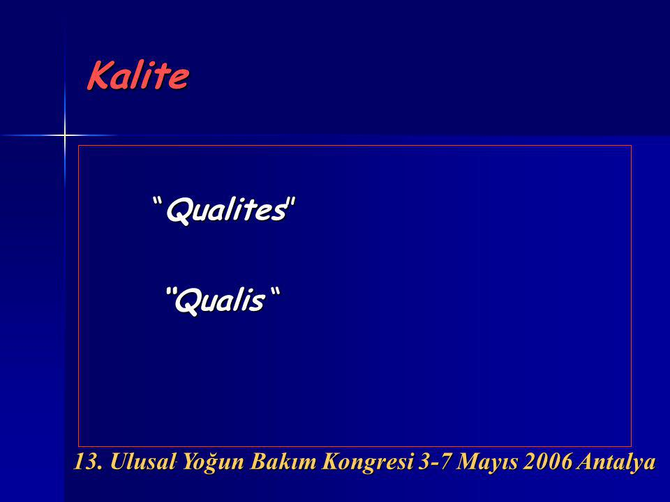 Kalite Qualites Qualis