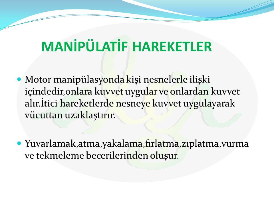 MANİPÜLATİF HAREKETLER