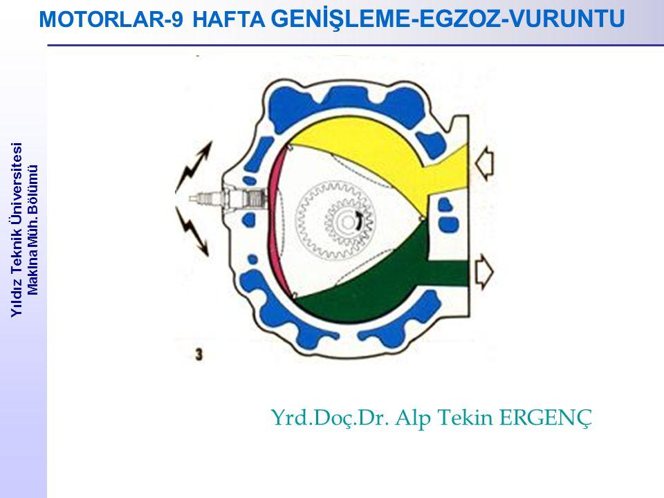 MOTORLAR-9 HAFTA GENİŞLEME-EGZOZ-VURUNTU