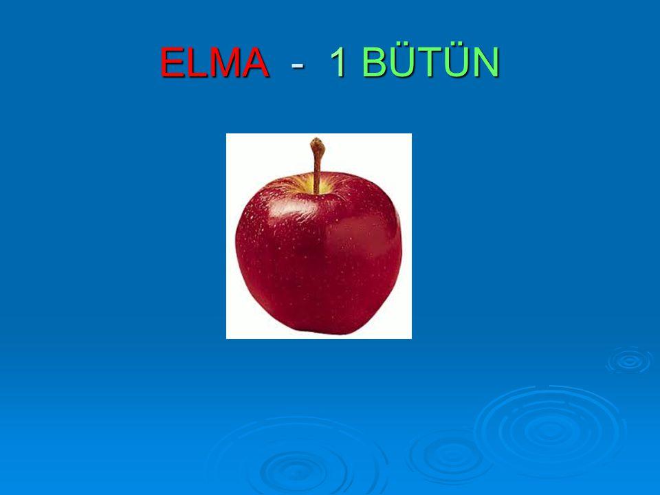 ELMA - 1 BÜTÜN