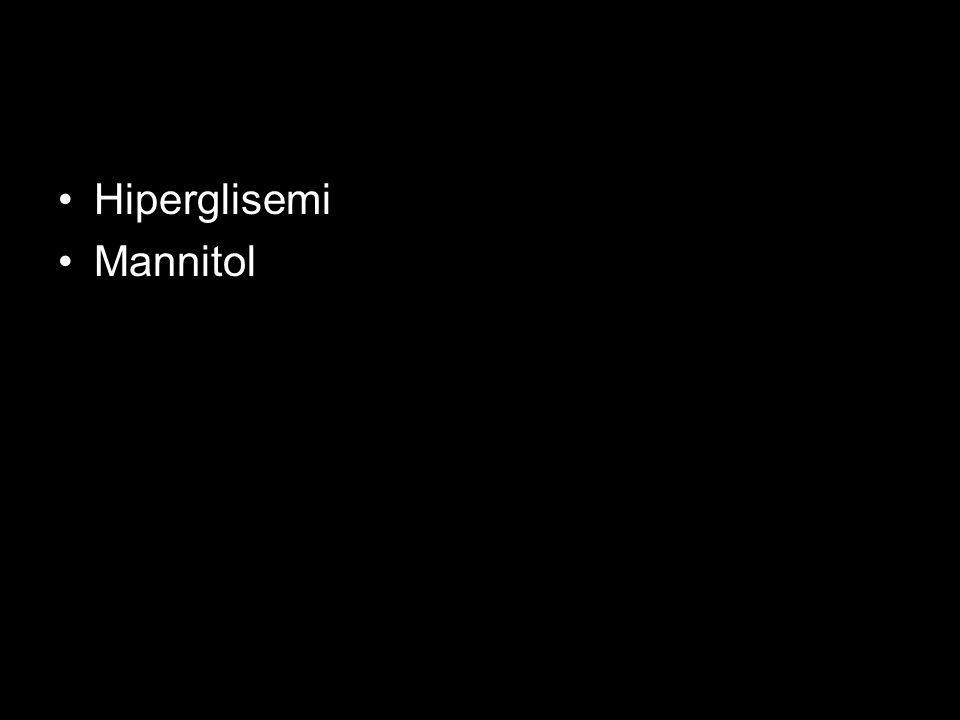 Hiperglisemi Mannitol