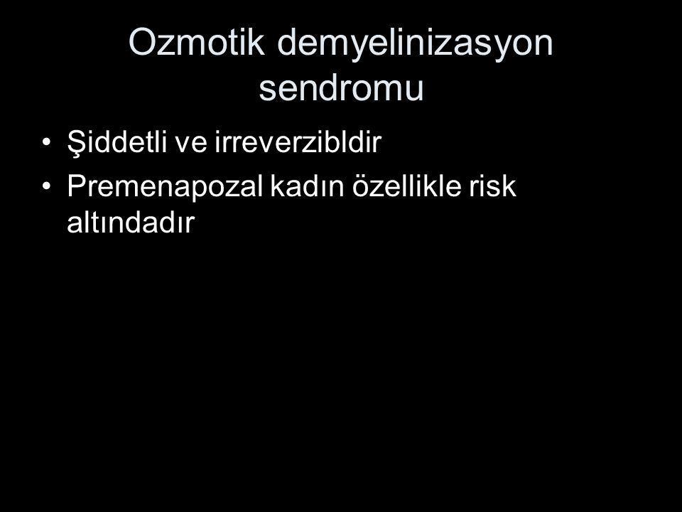 Ozmotik demyelinizasyon sendromu
