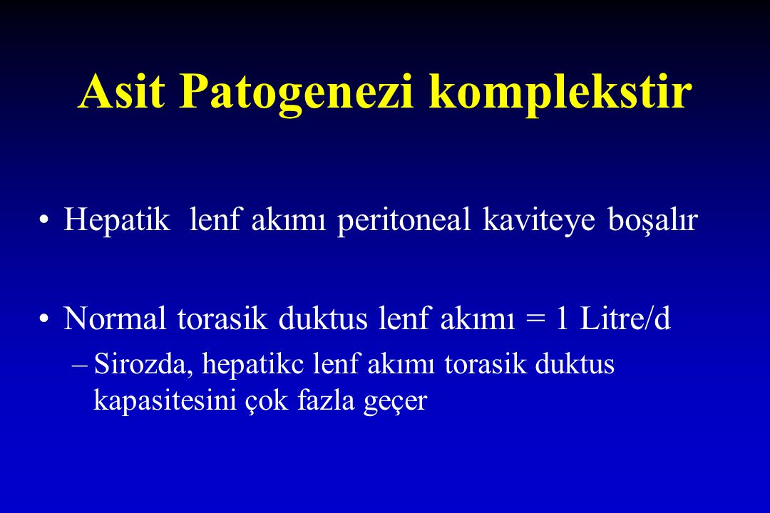Asit Patogenezi komplekstir