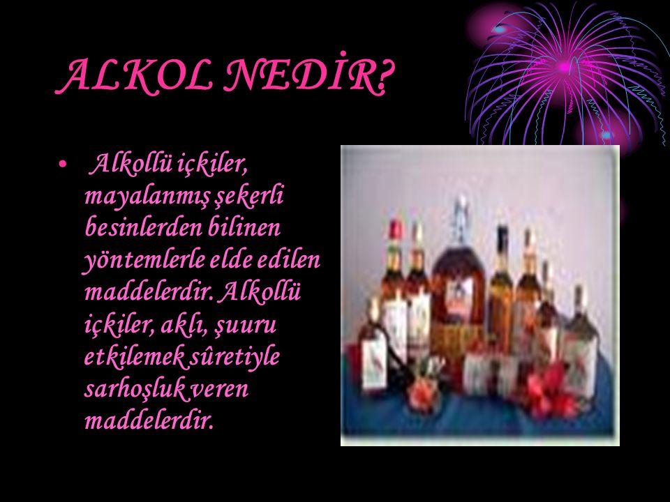 ALKOL NEDİR