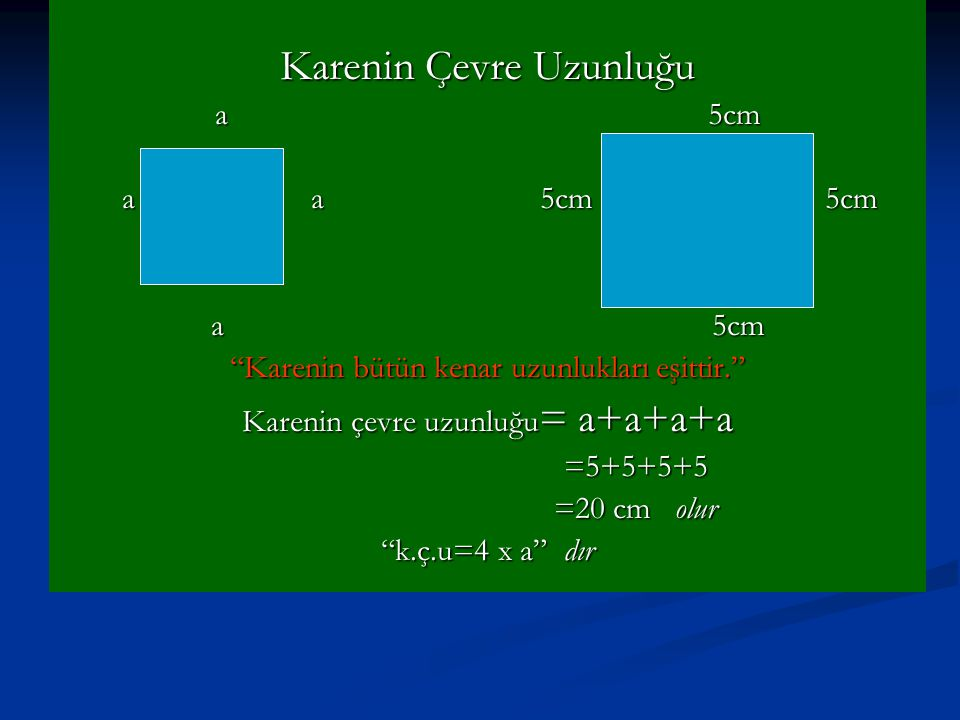 Karenin Çevre Uzunluğu
