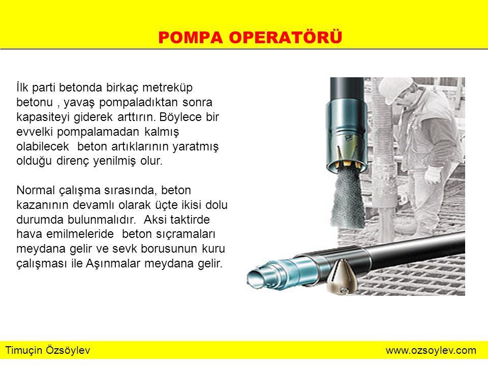 POMPA OPERATÖRÜ