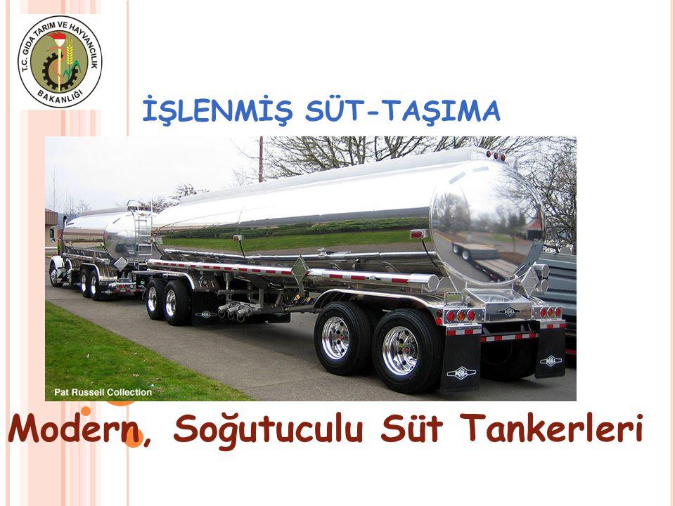 Modern, Soğutuculu Süt Tankerleri
