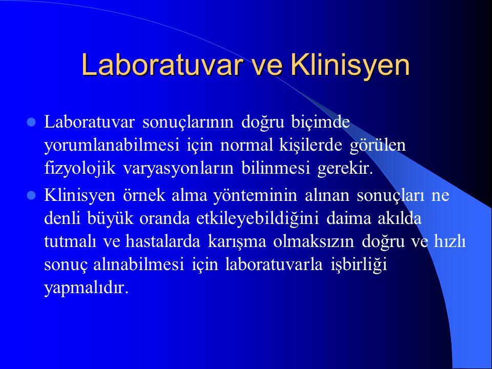Laboratuvar ve Klinisyen