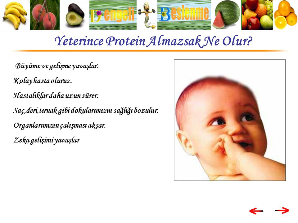 Yeterince Protein Almazsak Ne Olur