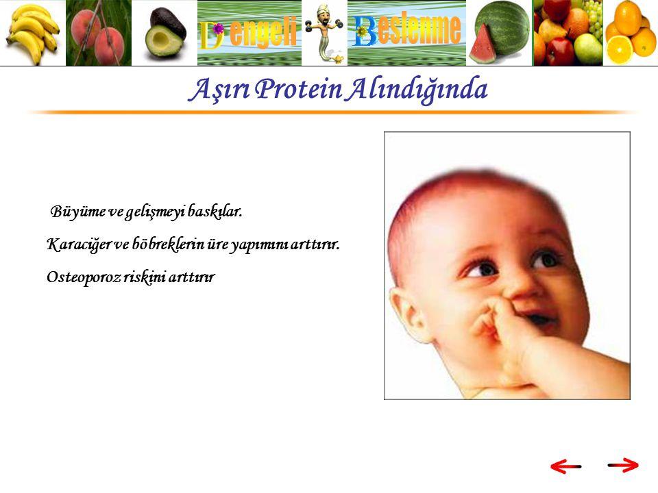 Aşırı Protein Alındığında