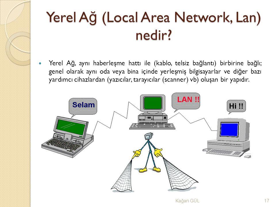 Yerel Ağ (Local Area Network, Lan) nedir