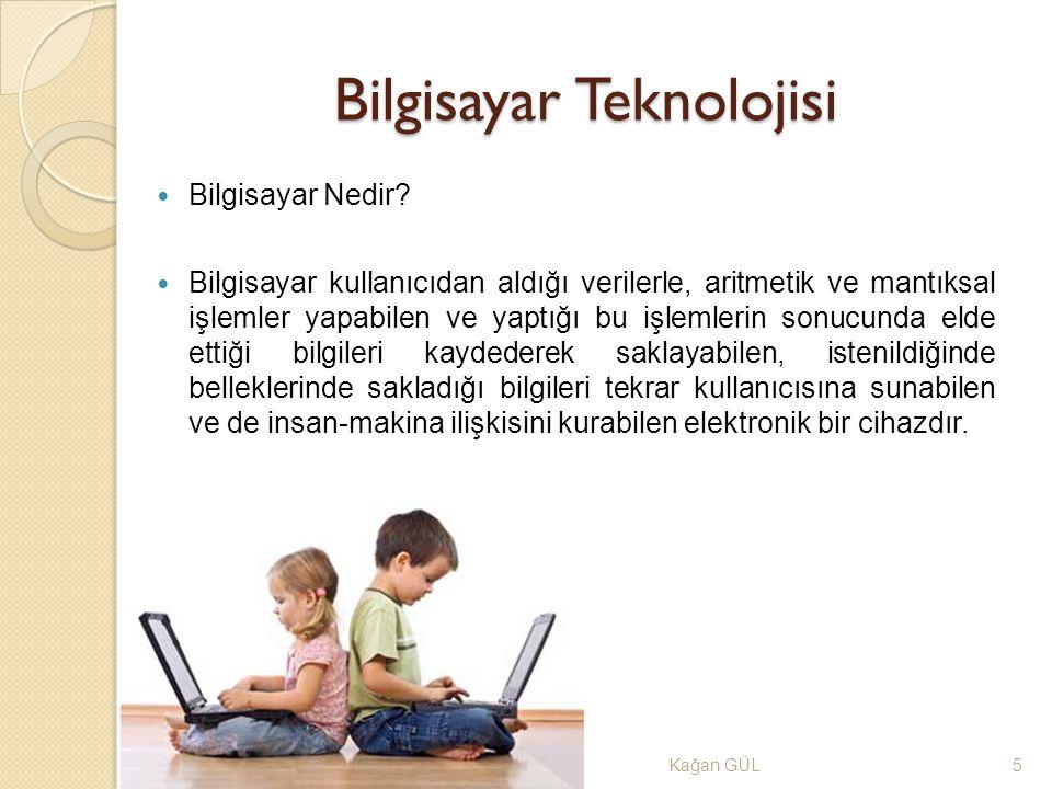 Bilgisayar Teknolojisi