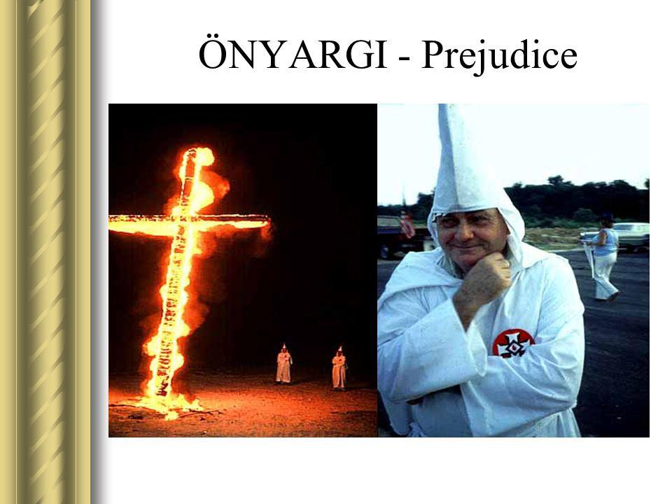 ÖNYARGI - Prejudice