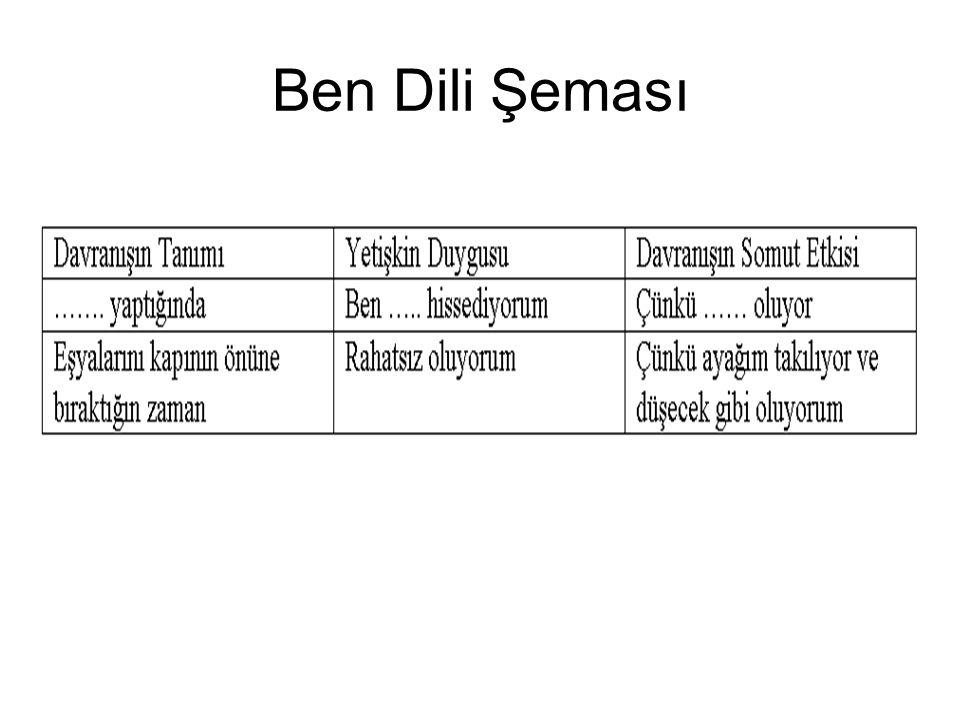 Ben Dili Şeması