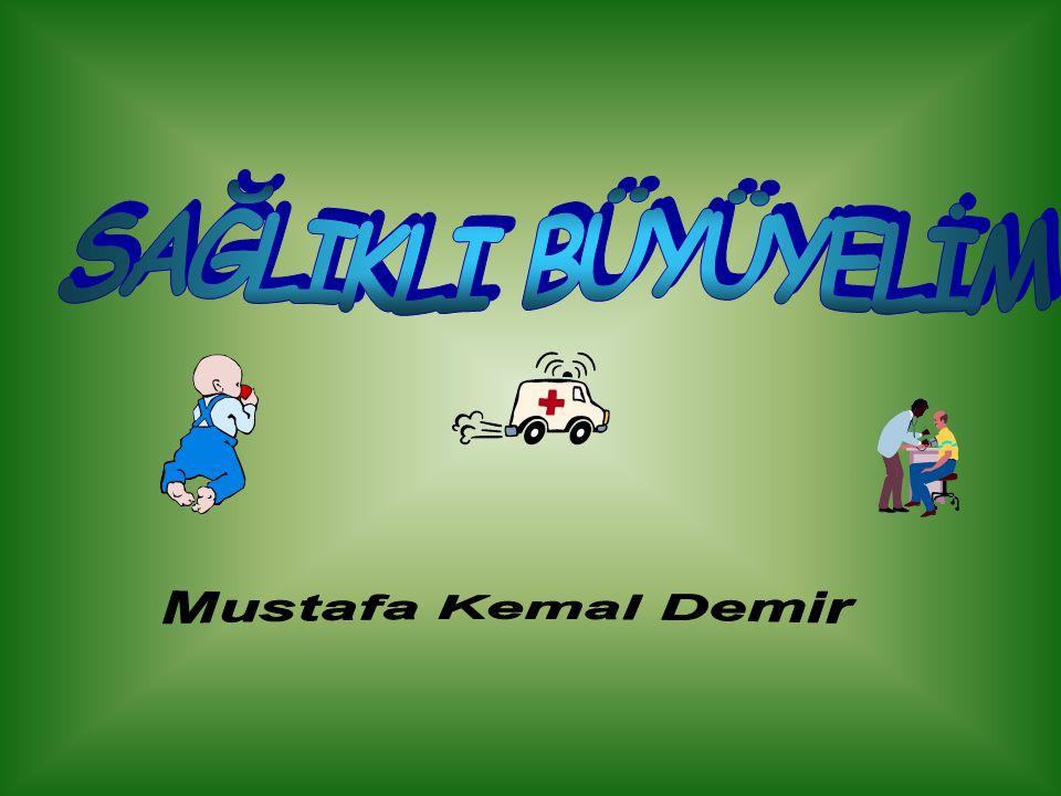 SAĞLIKLI BÜYÜYELİM Mustafa Kemal Demir